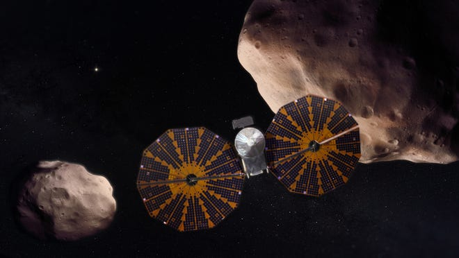 """Lucy will explore the Jupiter Trojan asteroids – thought to be """"fossils of planet formation."""""""