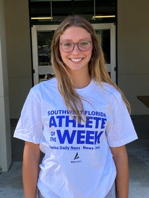 Clarice Spencer, Fort Myers High swimmer