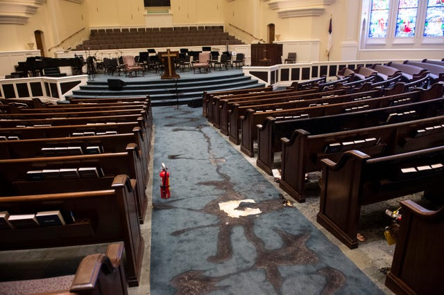Alabama Pastor Requests Prayer for Arsonist who Set Church on Fire