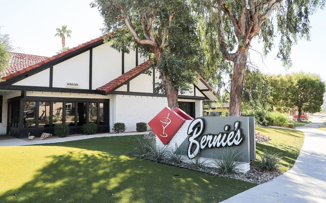 Bernie's Lounge and Supper Club in Rancho Mirage, September 30, 2021. The restaurant has been sold  is expected to reopen January 1, 2022, as Willie's, under the ownership of local restaurateurs Chad Gardner and Willie Rhine.