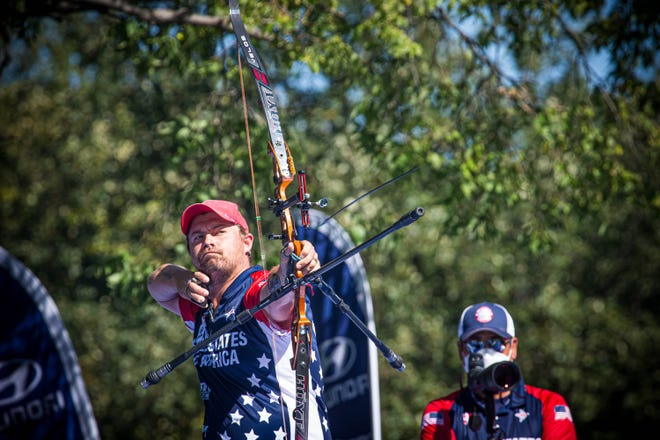 Brady Ellison of Globe-Miami won his 19th and 20th career medals at the World Archery Championships in South Dakota.