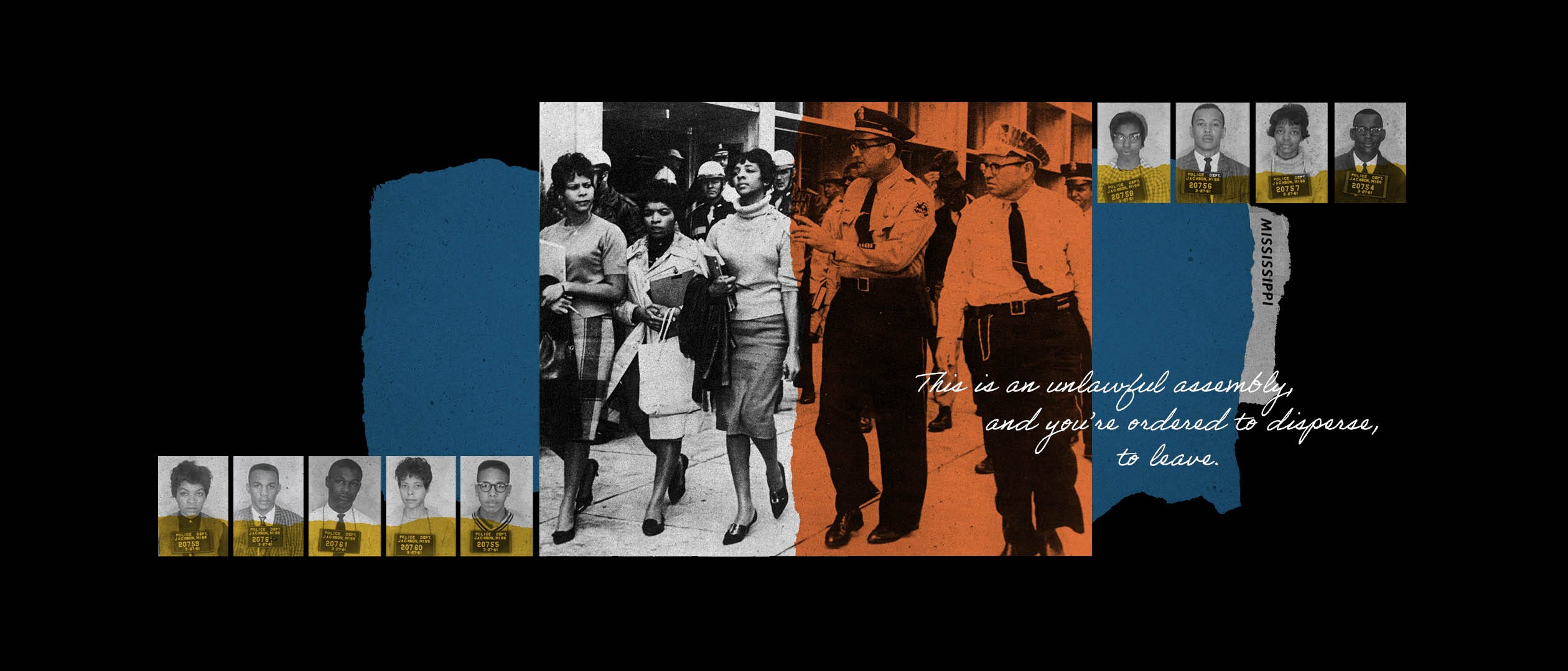 """A """"read-in'' led by the students who became known as the Tougaloo Nine inspired a Black youth activism movement in Mississippi."""