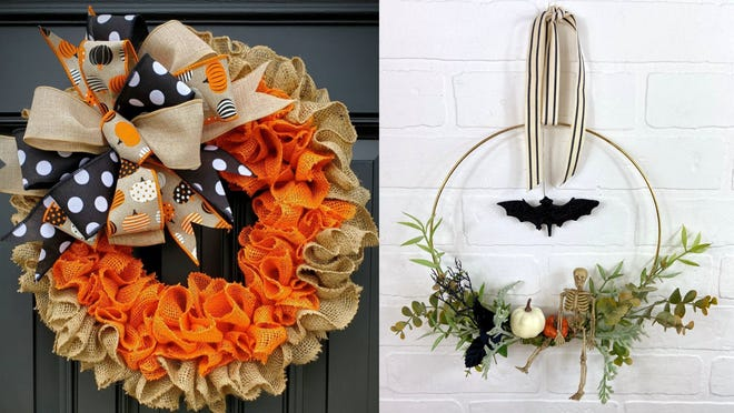 12 Halloween wreaths perfect for the spooky season