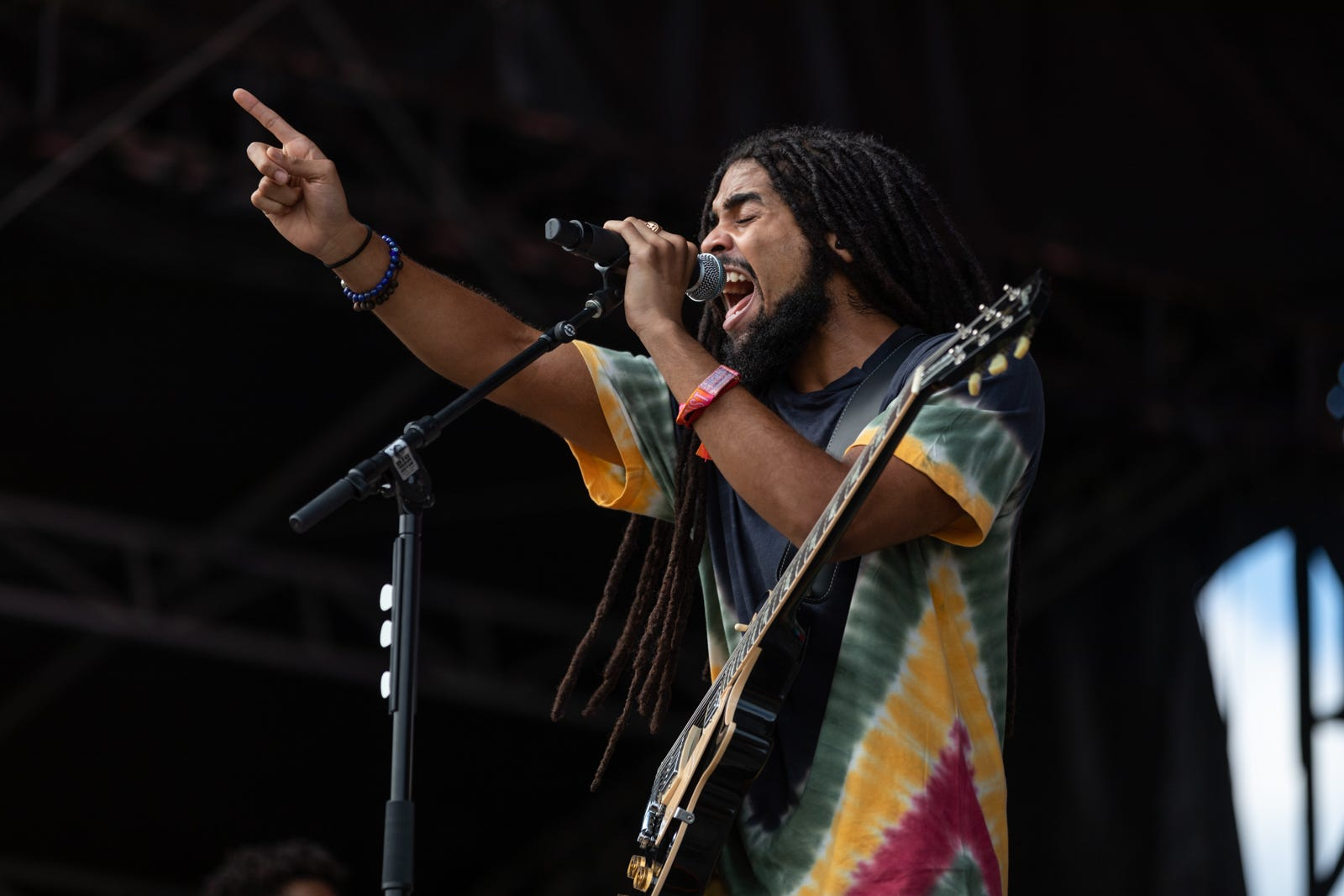 Skip Marley, Bob s grandson, gives ACL Fest the royal reggae treatment