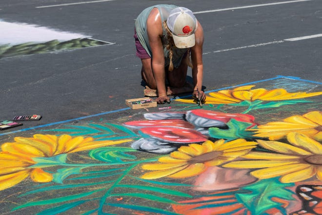 The city of Round Rock announced on Friday morning the annual Chalk Walk festival has been cancelled due to the rain. Last year's event was canceled due to the coronavirus pandemic.