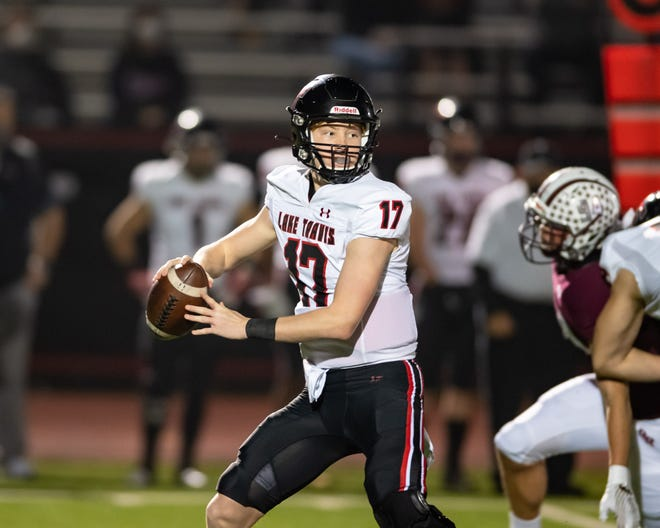 In 2020, Lake Travis quarterback Bo Edmundson passed for 459 yards in a win over Hays. Edmundson and the Cavs' passing game hope for another big performance when Lake Travis hosts Hays Friday.