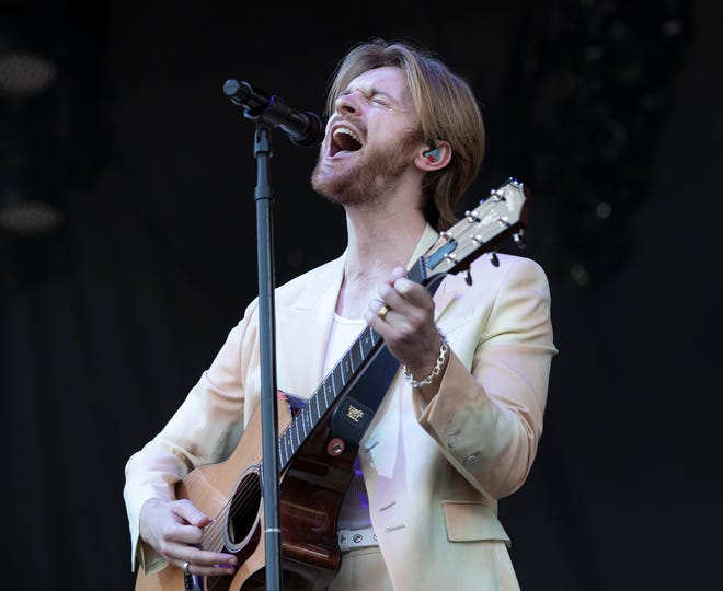 Finneas performs at the Austin City Limits Music Festival in Zilker Park on Friday October 1, 2021.
