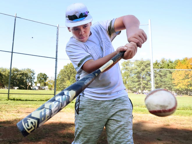 Michael Banks Jr., 12, of Barberton, will compete at the World Series in the MLB Junior Home Run Derby after winning a regional event in a nationwide competition.