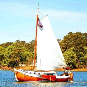 The wooden boat Valor is due to be in Provincetown next year.