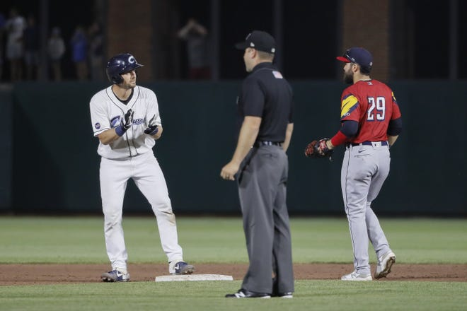 Columbus Clippers catcher Ryan Lavarnway and his teammates will see their season come to a close Sunday with a game against the Louisville Bats.