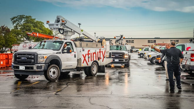 Comcast continues to restore TV, internet and phone service in Houma after Hurricane Ida.