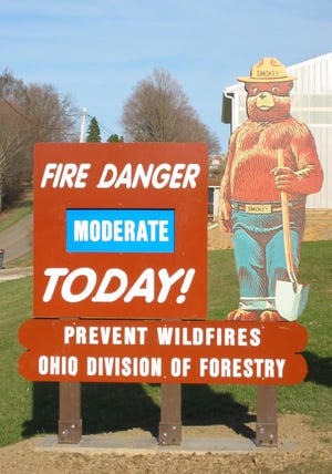 Ohio law states that most outdoor debris burning is prohibited in unincorporated areas from 6 a.m. to 6 p.m. during October and November.