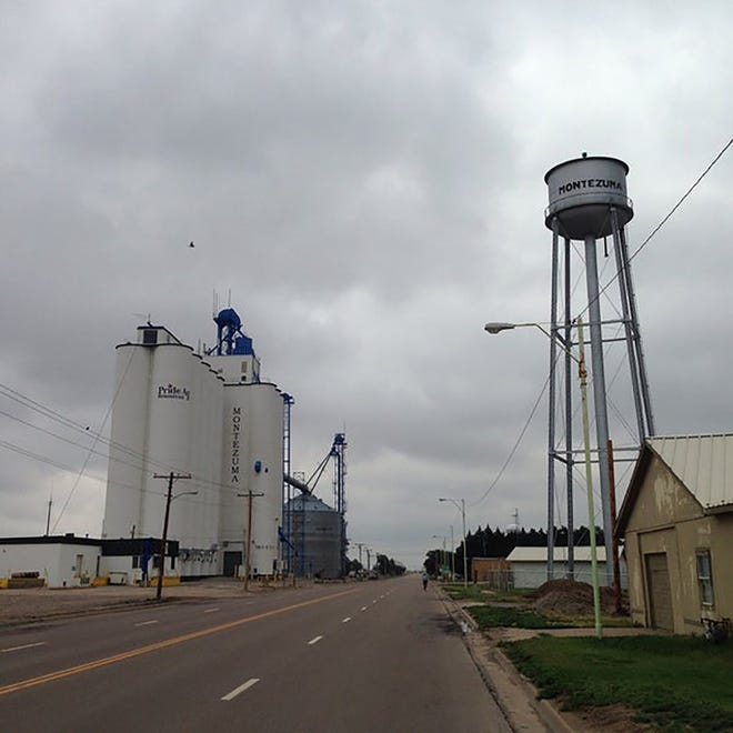 The town of Montezuma was established in 1886.