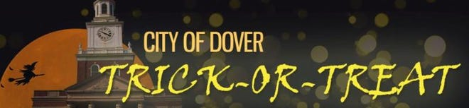 Dover will hold trick-or-treating from 5 to 8 p.m. on Saturday, Oct. 30, 2021 the day before Halloween, as is the tradition in Dover.