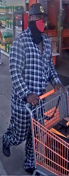 Gonzales Police released an image of the suspect.