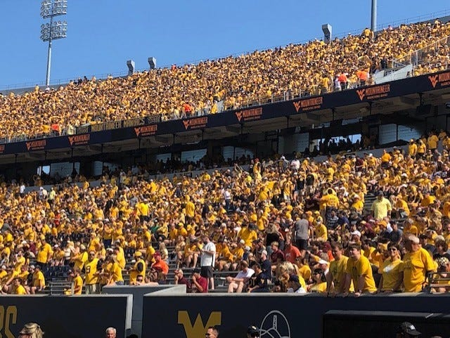 West Virginia will host Texas Tech this Saturday at 3:30. The Mountaineers are looking to go 3-2 on the season.