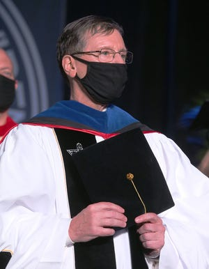 The Rev. Kenneth R. Sicard at his inauguration