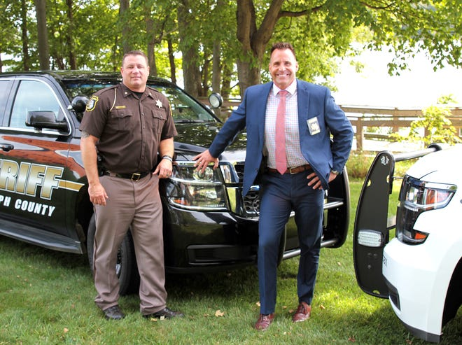 Sheriffs Mark Lillywhite and Chris Swanson met Thursday in Centreville to develop a unified approach.