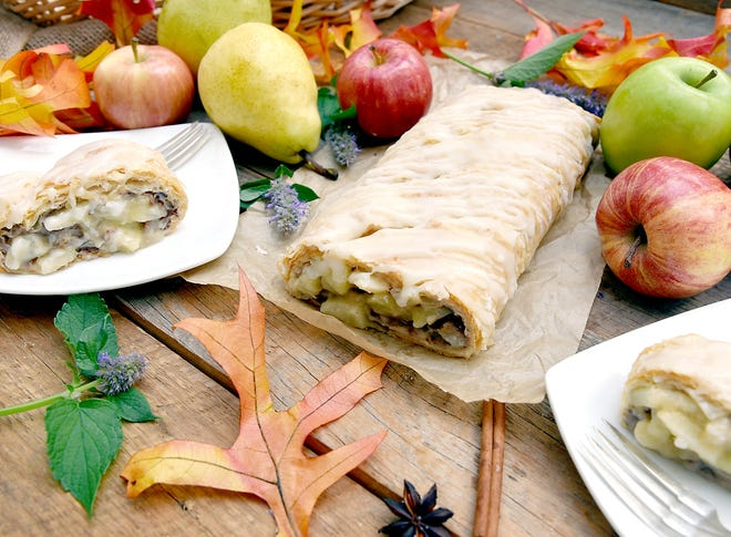 """It's easy to """"fall"""" for one of autumn's fresh-picked fruit indulgences, especially strudel."""