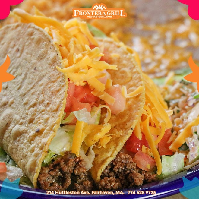 Frontera Grill in New Bedford has a handful of different tacos to choose from.