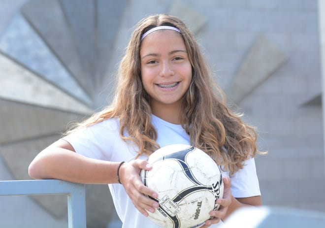 Norwich Tech senior Shelby Rice has sparked the Warriors girls soccer team to a 4-0-1 start this season.