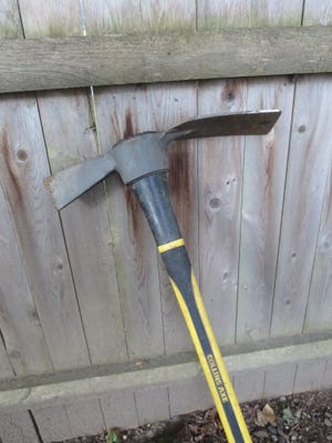 Collins Axe brand axe/mattock.
