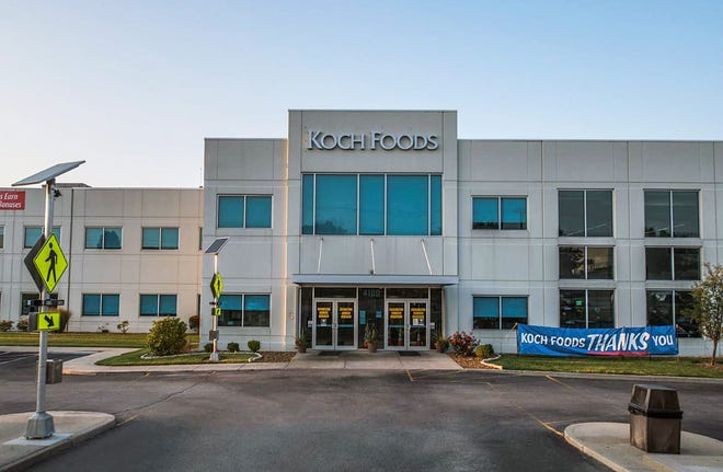 Koch Foods is planning a $220 million expansion, and will add a second building that will open by the end of next year, officials from the business said.