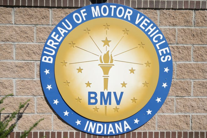 Indiana Bureau of Motor Vehicles West Lafayette Branch, Friday, Oct. 1, 2021 in West Lafayette.