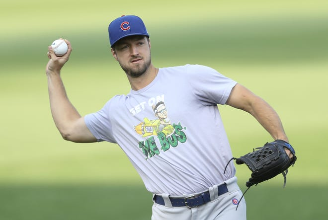 Colin Rea spent 2019 and 2020 in the Cubs organization before playing in Japan and then joining the Brewers.