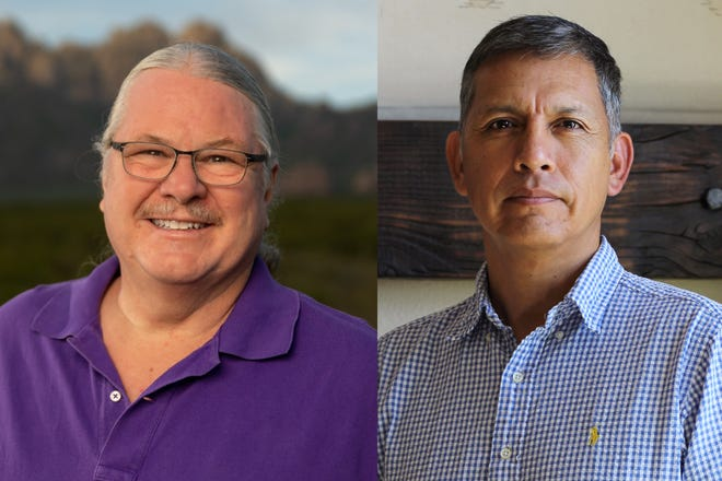 Robert Wofford and Eloy Francisco Macha are the two candidates running for the District 3Las Cruces Public Schools Board of Education seat in 2021.