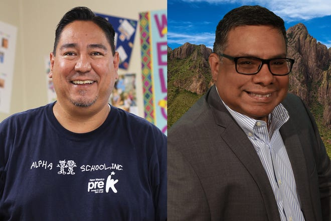 Ray Jaramillo and Abelardo Balcazar are the two candidates running for the District 2Las Cruces Public Schools Board of Education seat in 2021.