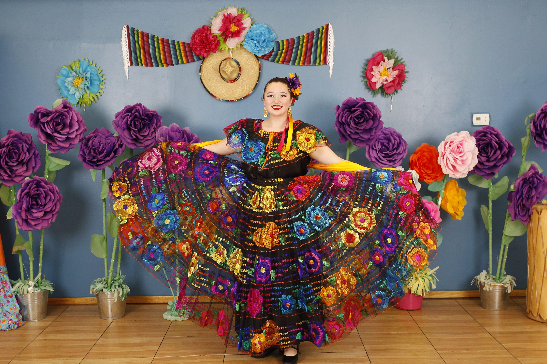 Denise Aguilera, 15, student dancer at Ollin Yoliztli Dance Academy in Phoenix.