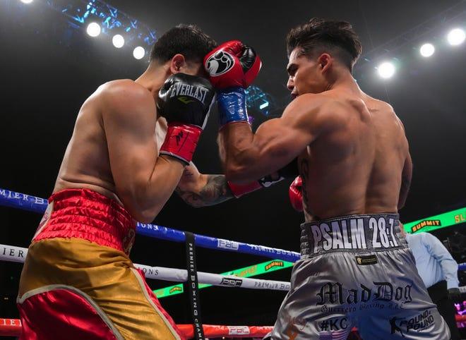 Justin Cardona's boxing match.