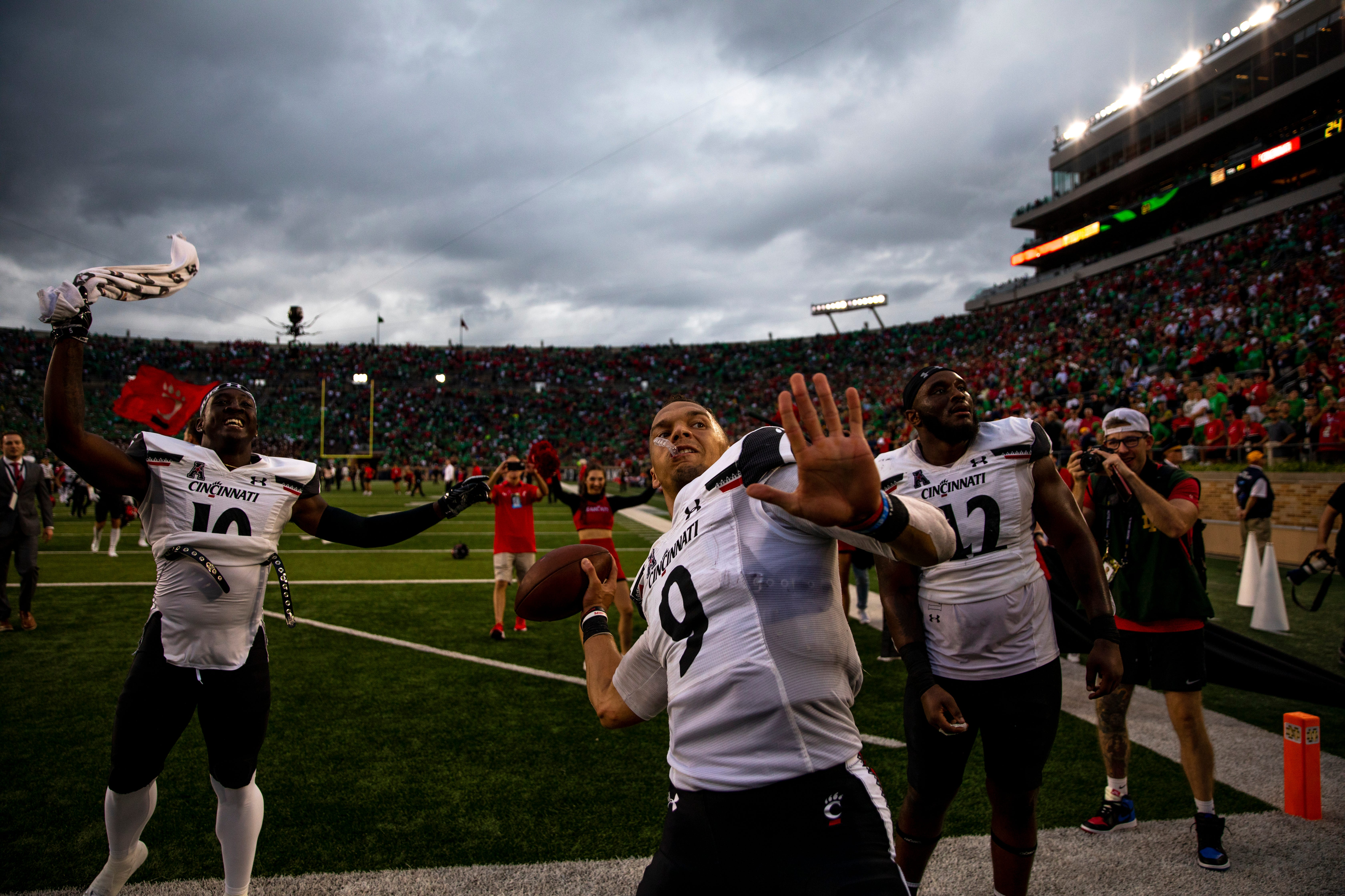 Doc's Morning Line: The UC Bearcats did something that honored my 30-year run on suffering