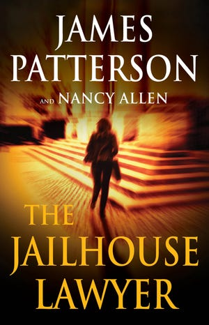 """Cover art for """"The Jailhouse Lawyer"""" by James Patterson and Nancy Allen"""