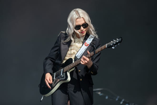 Phoebe Bridgers performs at the Austin City Limits Music Festival on Oct. 2.