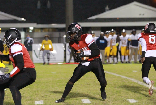 Donaldsonville's Robert Kent scored two touchdowns in the Tigers' blowout win over Kentwood.
