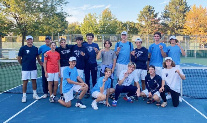 The Petoskey boys' tennis team earned a runner-up Big North Conference finish in Traverse City, collecting two flight titles and a handful of runner-up finishes.