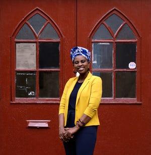 Teddi Jallow of the Refugee Dream Center in Providence.