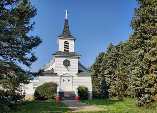 Scandinavia Lutheran Church is located south of Bath. The church hosted a celebration of 140 years on Sunday.