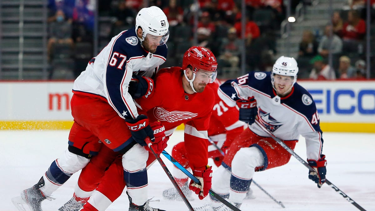 Detroit Red Wings game vs. Columbus Blue Jackets: Time, TV channel, more info