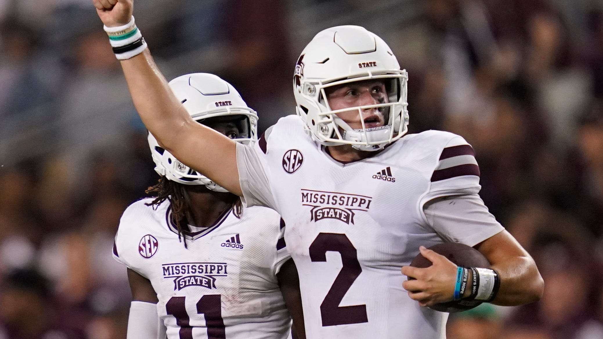 Will Rogers produced his best game yet for Mississippi State football
