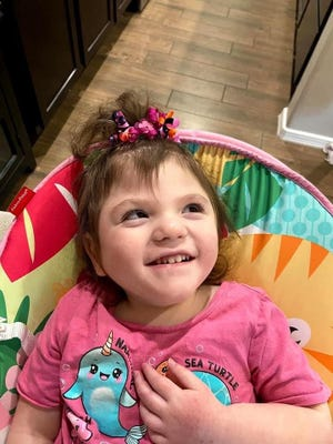 Ariyah Baca, who was born premature and diagnosed with spastic cerebral palsy, died at age 3 in May 2021.