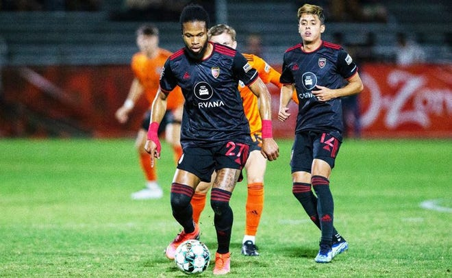 Phoenix Rising FC defeated Orange County 1-0 on the road Saturday, Oct. 2, 2021/Photo courtesy of Phoenix Rising FC