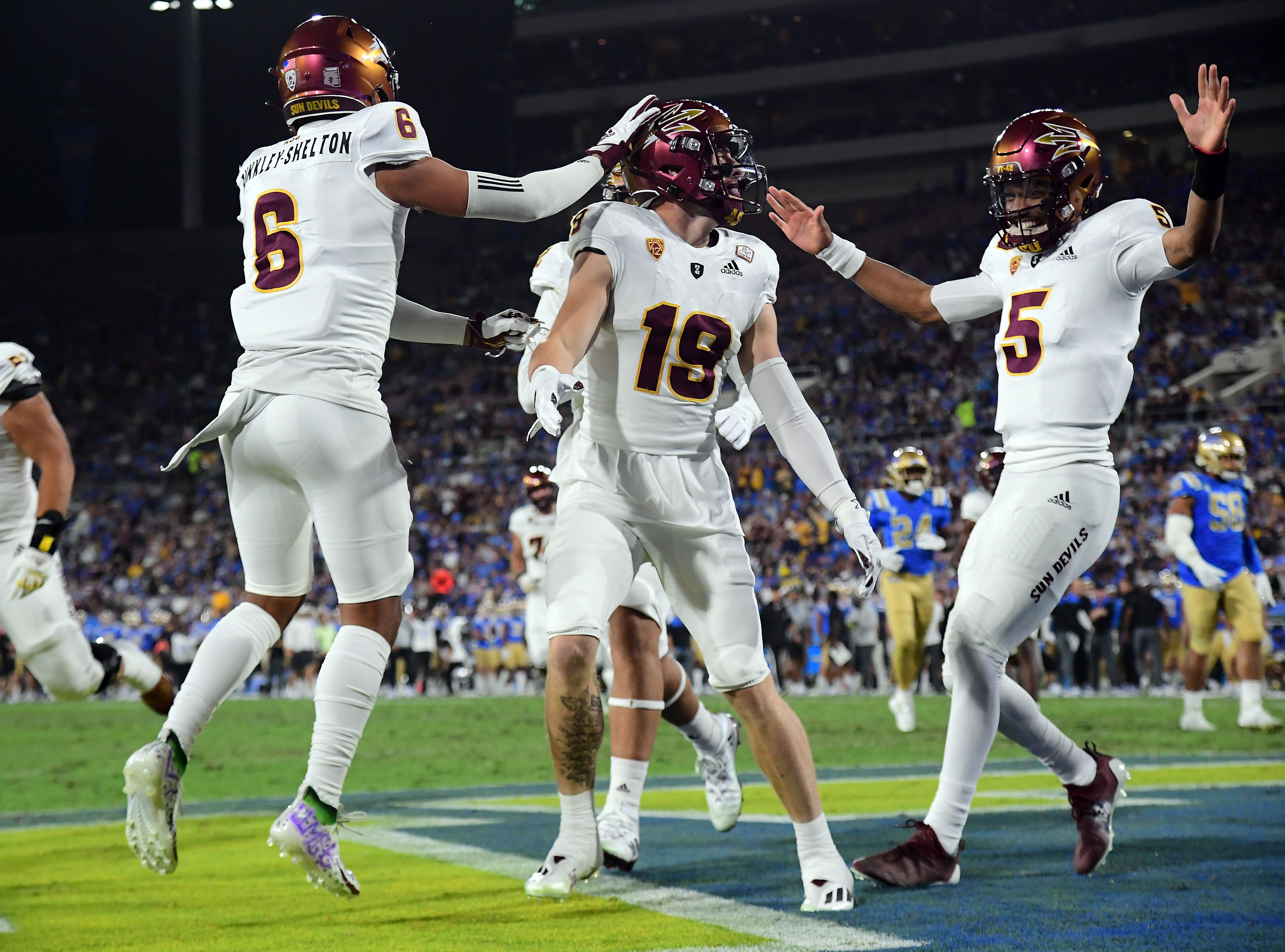 Local Ricky Pearsall emerging as key factor in explosive ASU offense
