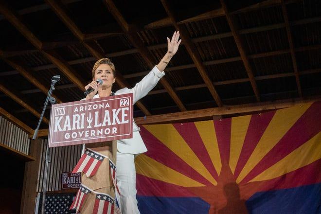Arizona gubernatorial candidate Kari Lake