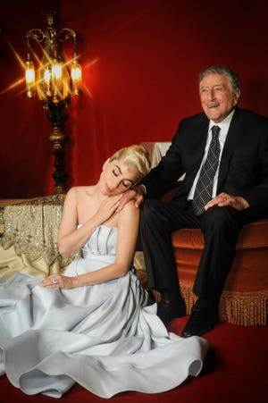 """Lady Gaga and Tony Bennett's new jazz album, """"Love for Sale,"""" was released last week."""