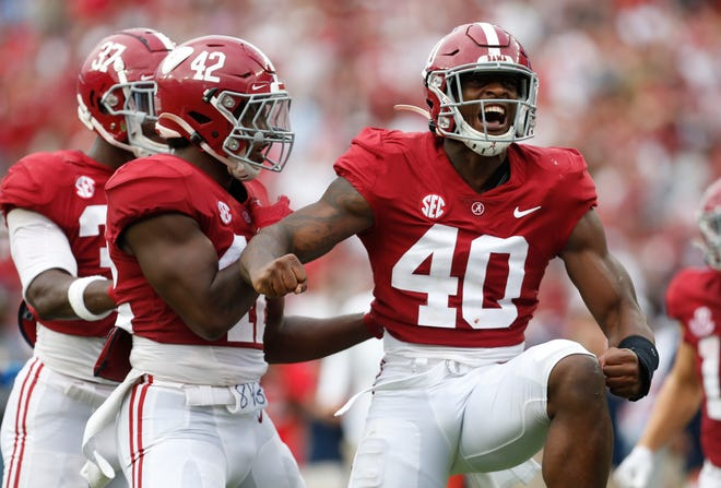 The Alabama Crimson Tide sent a message in a big win against Ole Miss.