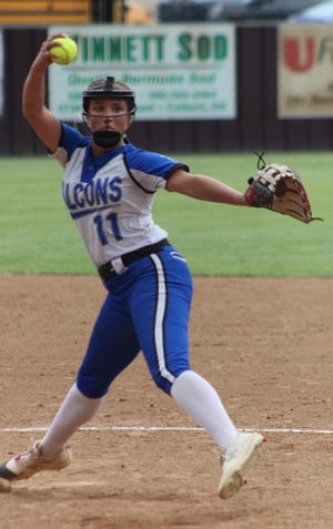 Alex Westfall and the Lady Falcons are headed to the Class B State Tournament. Turner opens play against Roff at 1:30 p.m. Thursday at USA Hall of Fame Stadium in Oklahoma City.