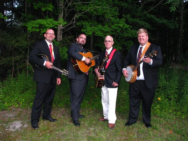 Local bluegrass band Almost Famous featuring Micah Fuchs, Josh Hetrick, Harold Daily, and two-time national banjo champion Steven Moore will perform from noon to 4 p.m. Saturday at the Friends of Captina Creek/Captina Creek Conservatory Festival.
